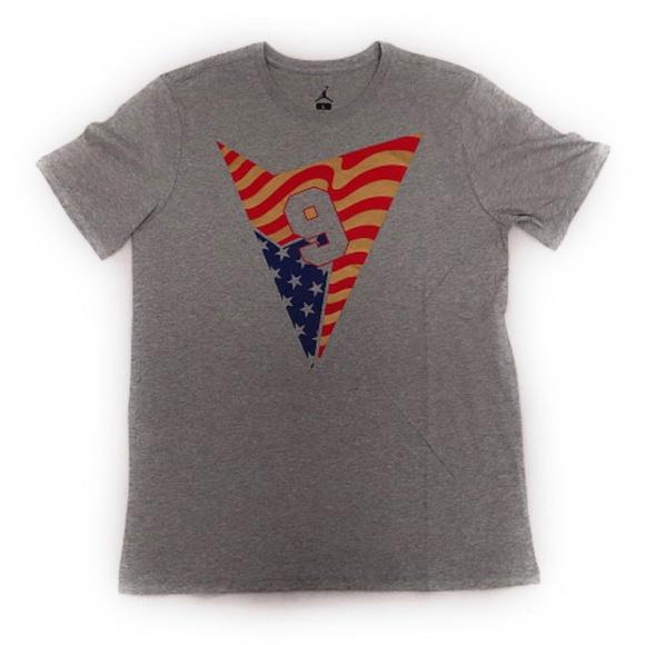 a1df85beae6 Jordan Shirts | Air 7 Stars Strips Mens Tshirt Grey | Poshmark